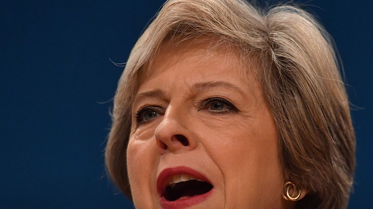Torie-ledaren Theresa May