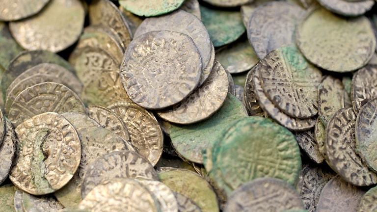 Mynt, arkivbild