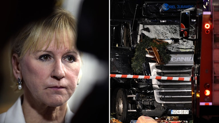 Margot Wallström, utrikesminister (S).
