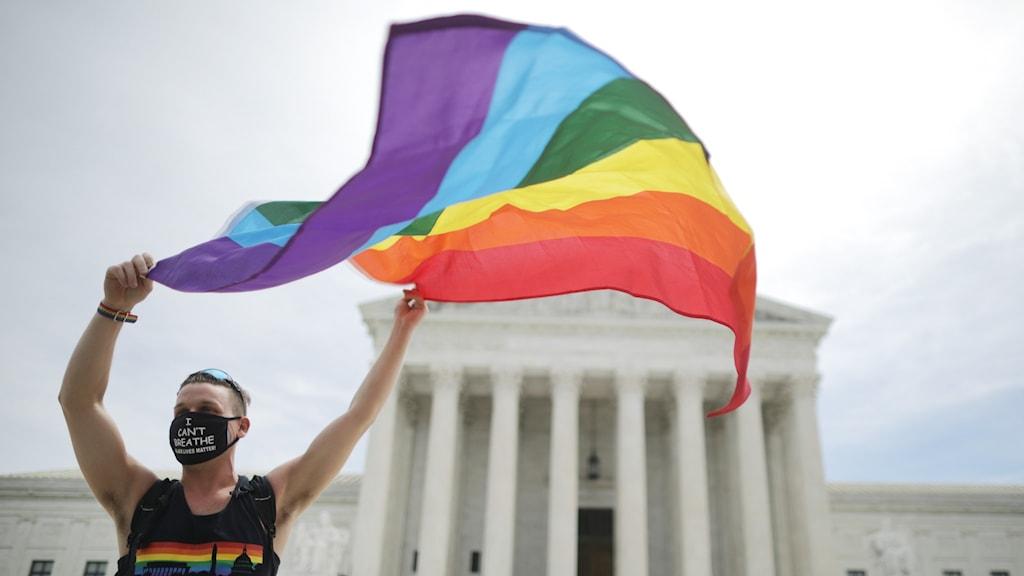 Högsta domstolen i USA.