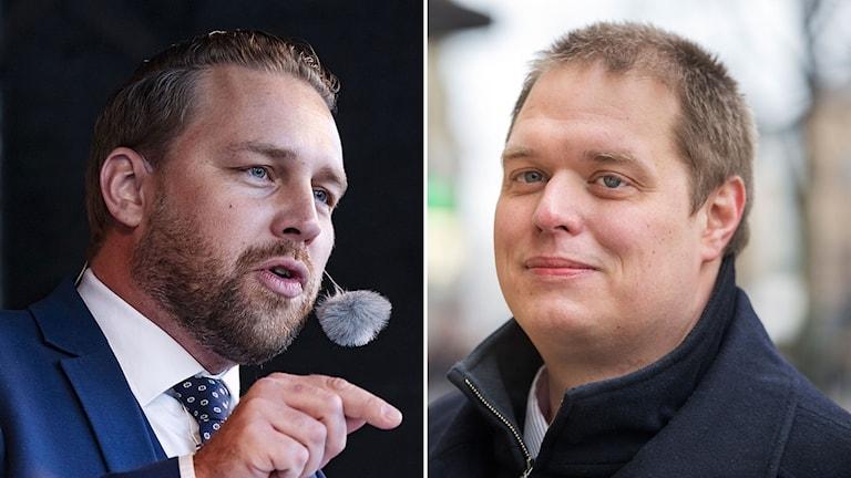 Mattias Karlsson och Jonas Millard.