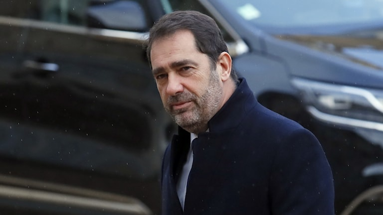 Frankrikes inrikesminister Christophe Castaner.