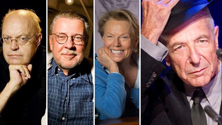 Stefan Wermelin, Mikael Wiehe och Arja Saijonmaa hyllar Leonard Cohen