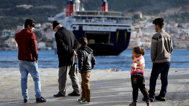 Fortsatt ansträngt läge i grekiska migrantläger