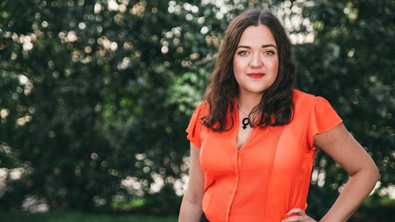 Andrea Törnstam, SSU:s förbundssekreterare.