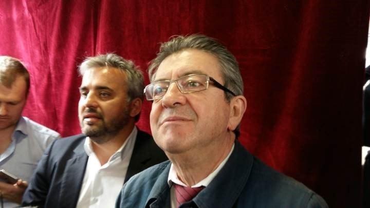 Radikala vänsterns presidentkandidat i Frankrike Jean-Luc Mélenchon