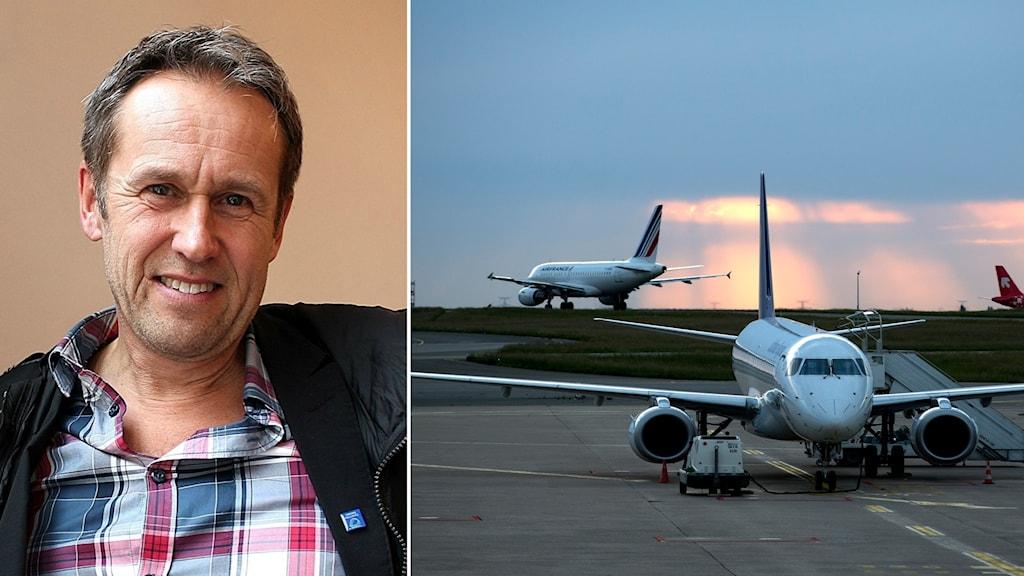 """Nationella samordnaren för """"Fossilfritt Sverige"""", Svante Axelsson, tycker utvecklingen är ohållbar."""