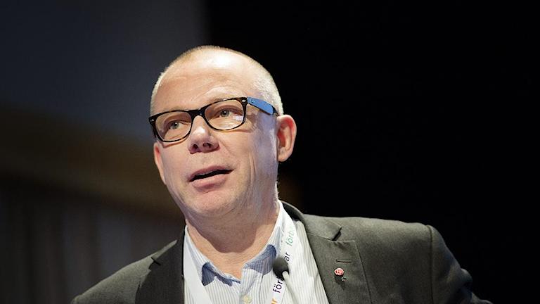 Jari Visshed. tredje förbundsordförande på Fastighetsanställdas förbund.