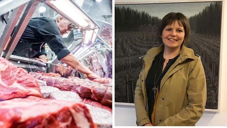 Forskaren Elin Röös leder projektet om klimatskatt på mat vid Sveriges Lantbruksuniversitet
