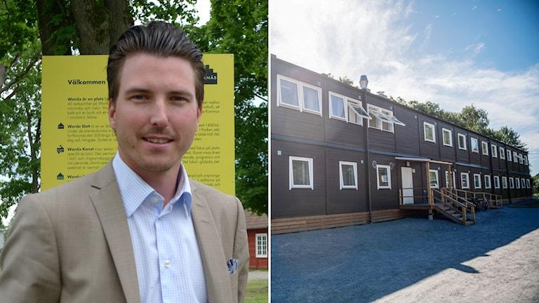 Patric Åberg Moderat kommunalråd i Östra Göinge.