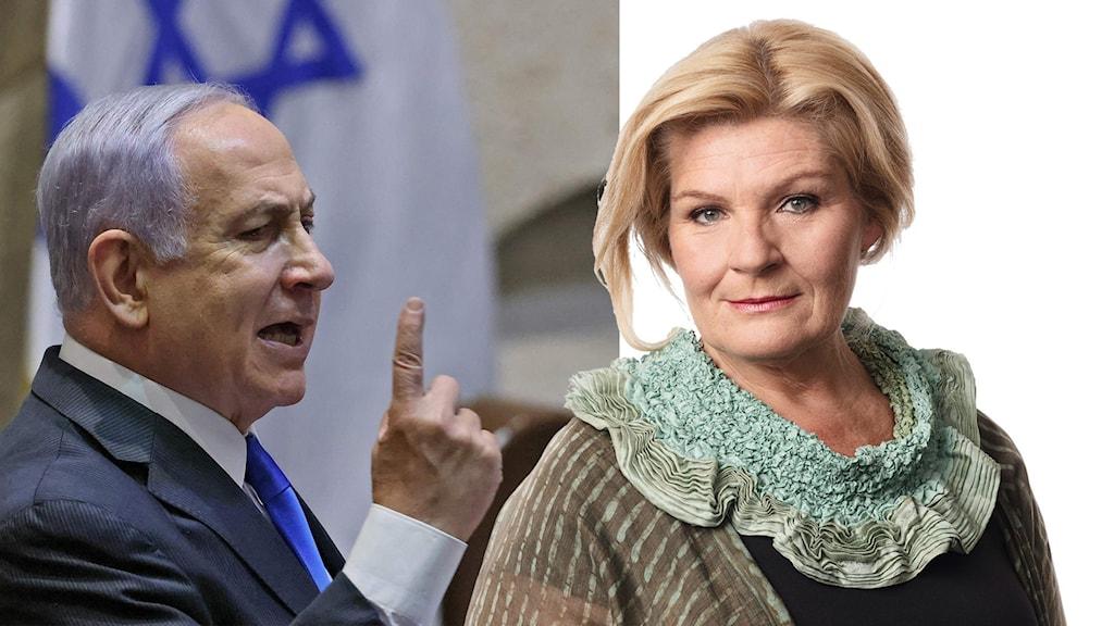Benjamin Netanyahu, Cecilia Uddén.