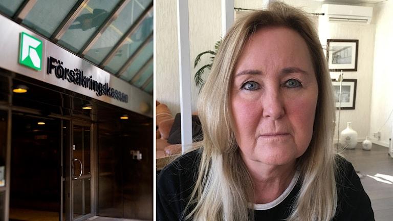 Anette Persson med kroniskt trötthetssyndrom som kämpar för sjukpenning i domstol