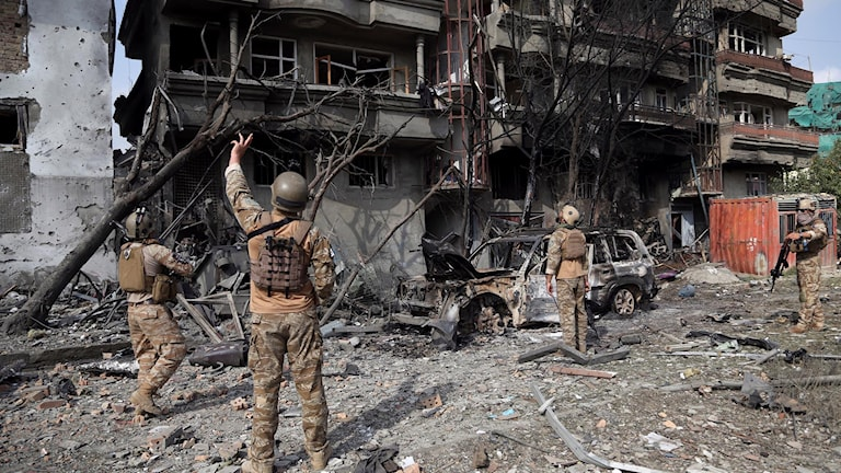 Minst 20 personer ska ha dödats och 50 sårats i Afghanistans huvudstad Kabul