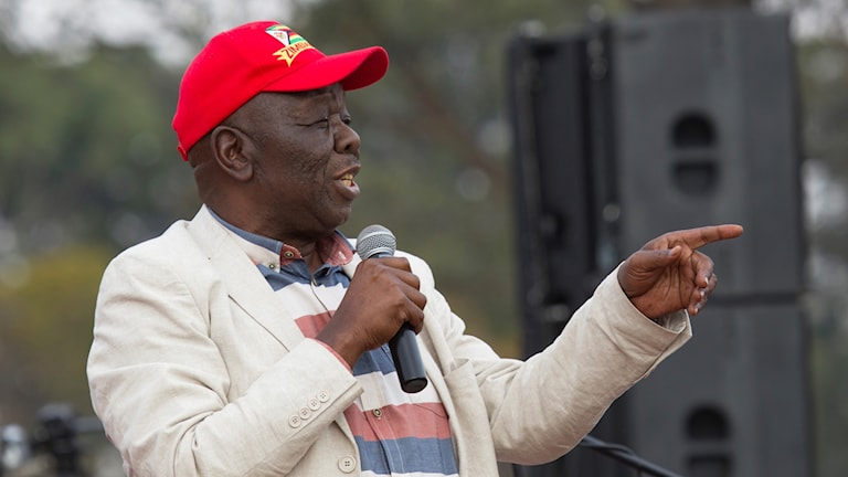 Oppositionsledaren Morgan Tsvangirai