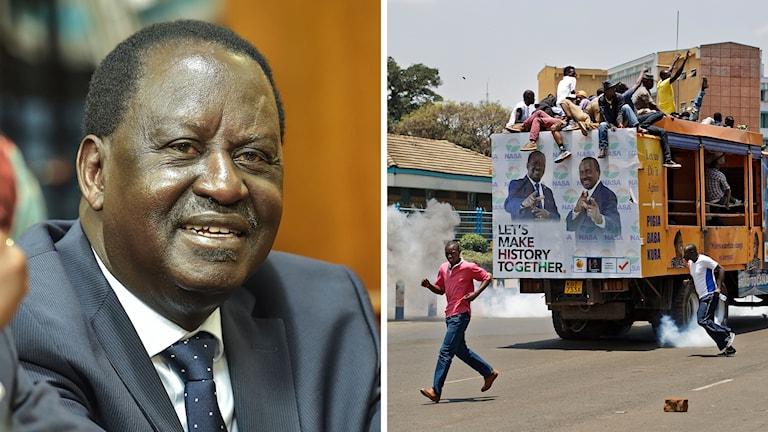 Kenya val opposition