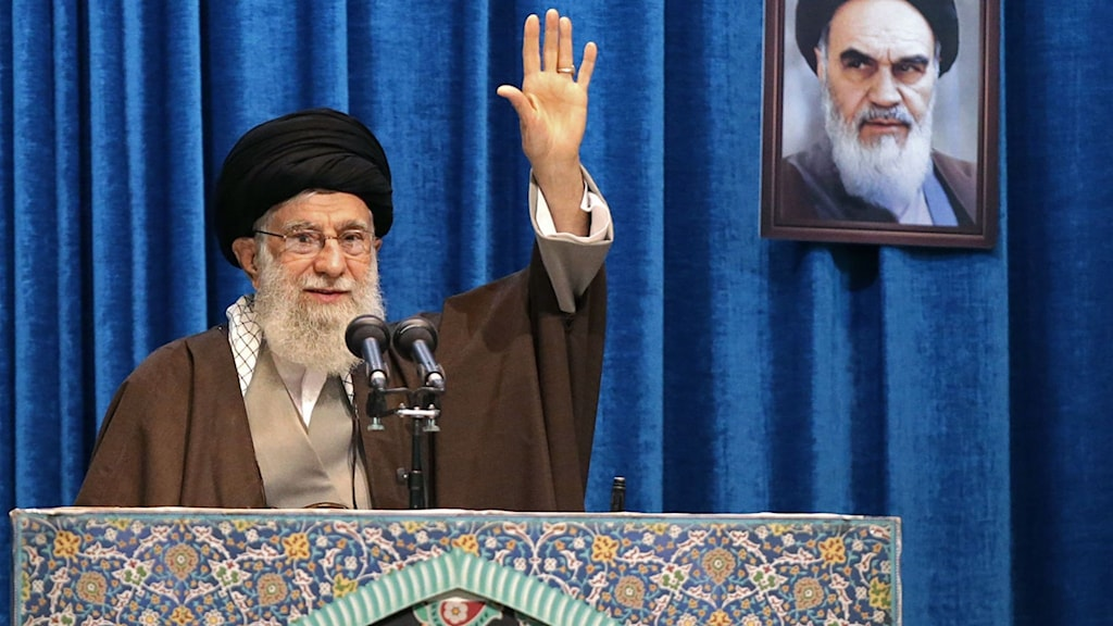 Irans högste ledare Ayatollah Khamenei