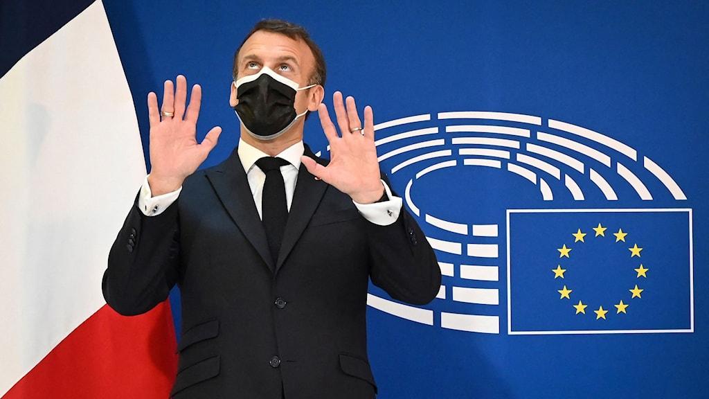 Macron på Europadagen