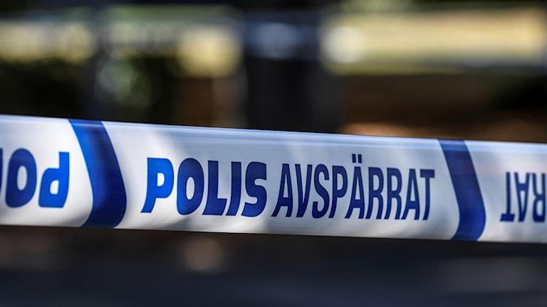 Polis-avspärrningar