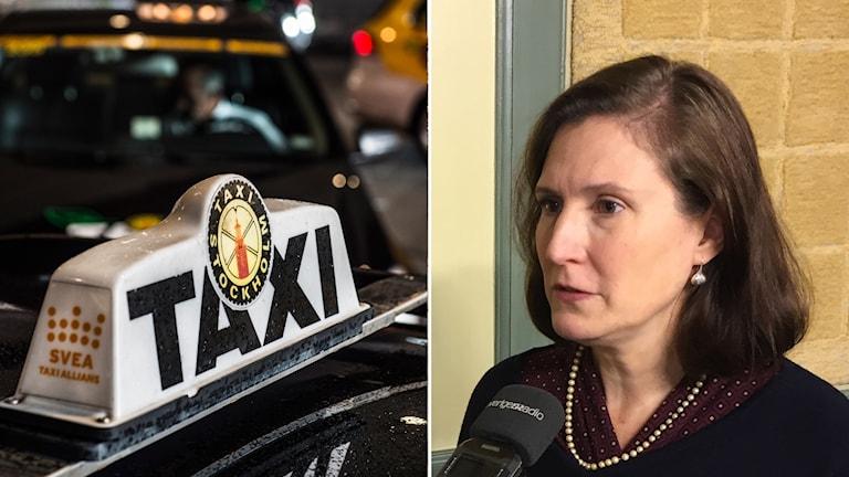 Taxi investigator Amy Rader Olsson.