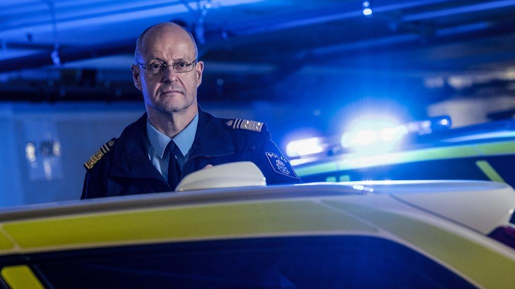 Regionpolischef i Stockholm Mats Löfving.