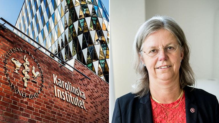 Karin Dahlman-Wright, vikarierande rektor på KI