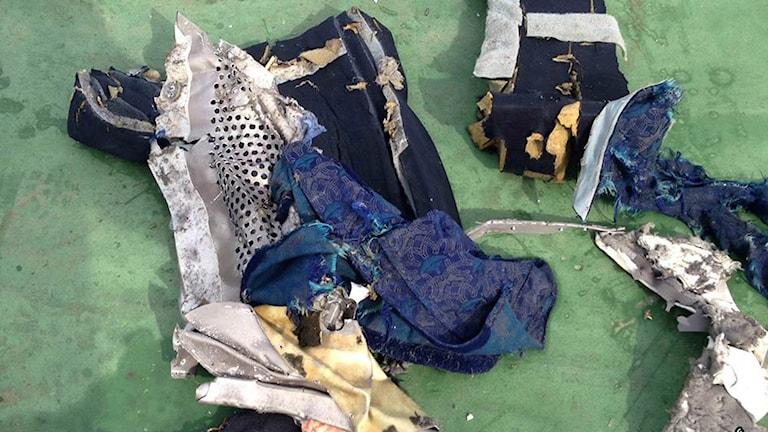 Egypten vrakdelar flygkrasch