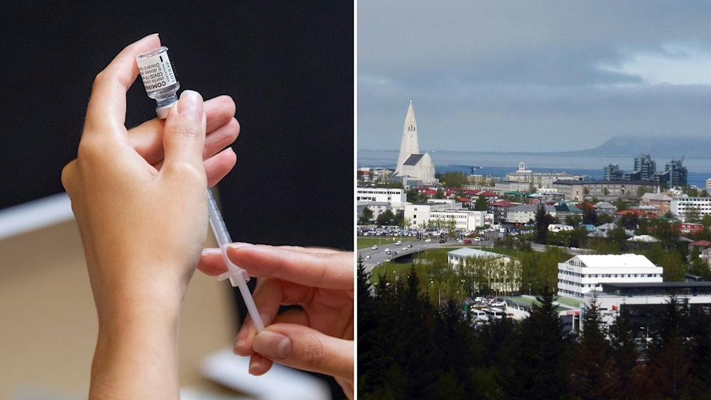 Coronavaccin och Reykjavik