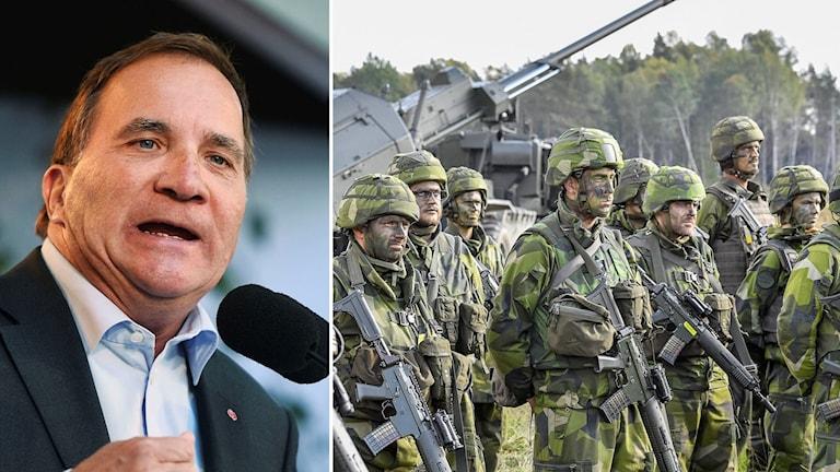 """Statsministern ska tala under rubriken """"Sveriges säkerhet i en ny värld""""."""