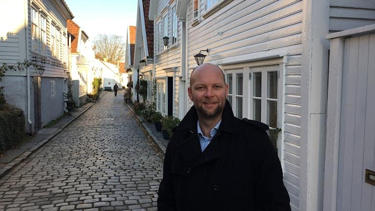 Många säljare har inte tagit in den nya prisbilden, säger Jan Georg Byberg, fastighetsmäklare i Stavanger.