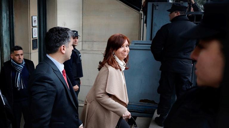 Argentinas ex-president Cristina Fernandez de Kirchner