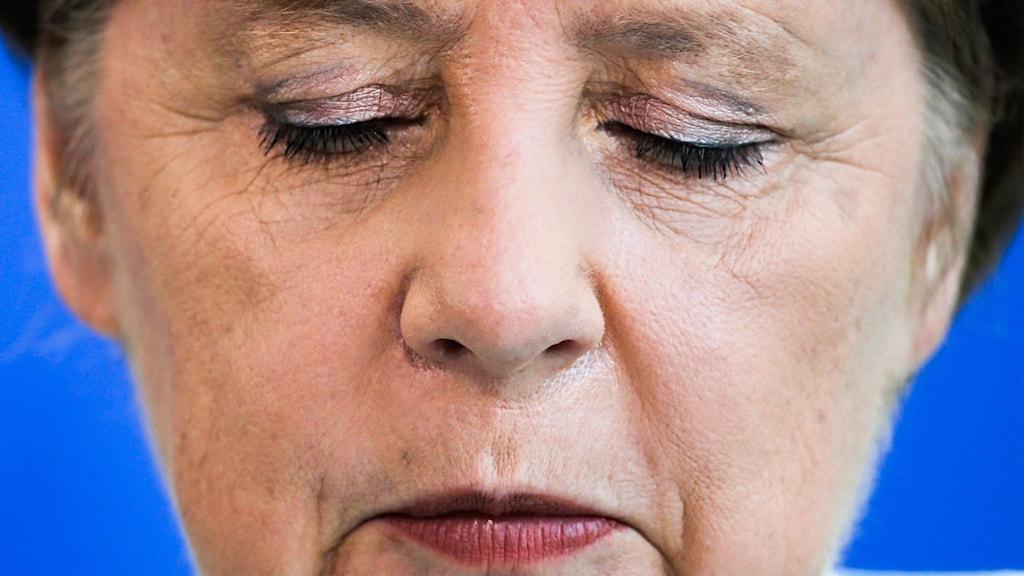 Tysklands förbundskansler Angela Merkel uttalade sig om Storbritanniens utträde ur EU i den tyska riksdagen tidigare i dag.