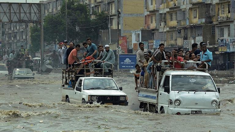 Översvämningar i Pakistan
