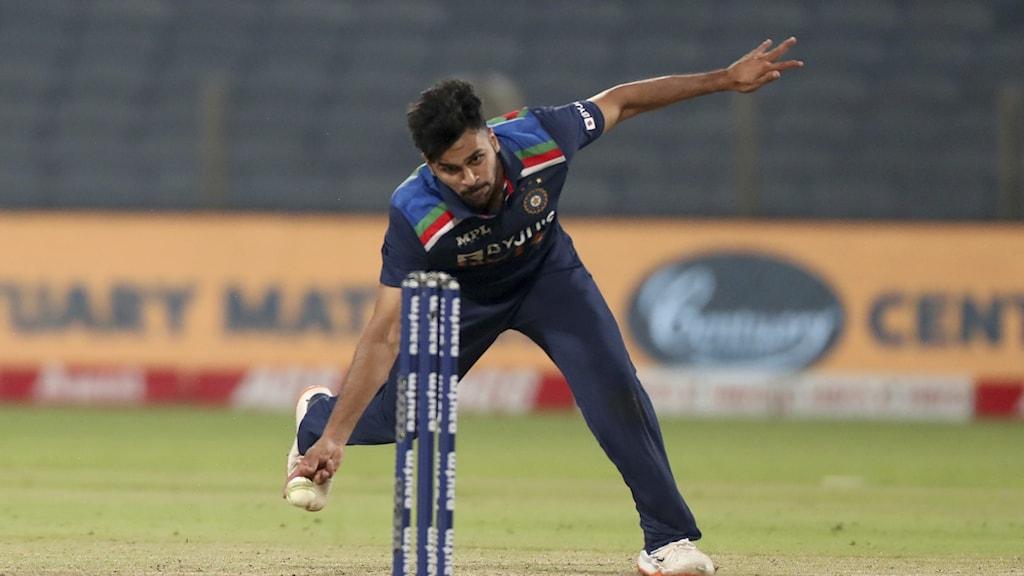 Indiska cricketspelaren Shardul Thakur.