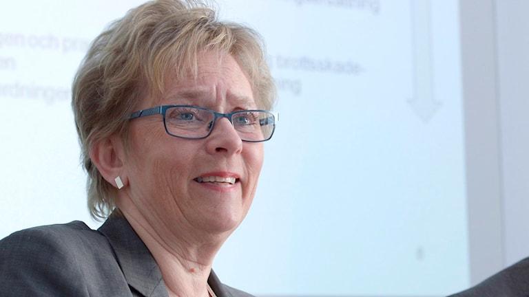 Annika Öster, generaldirektören för Brottsoffermyndigheten