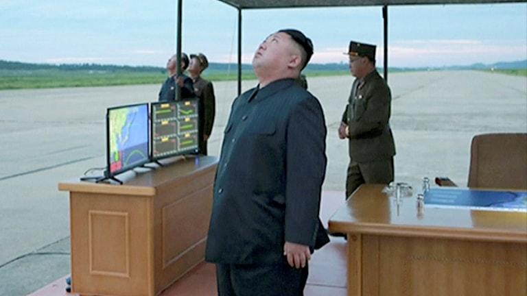 Kim Jong-Un, the leader of North Korea.