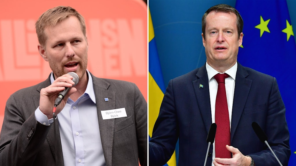 Regionråd Björn-Owe Björck (KD) och energiminister Anders Ygeman (S).