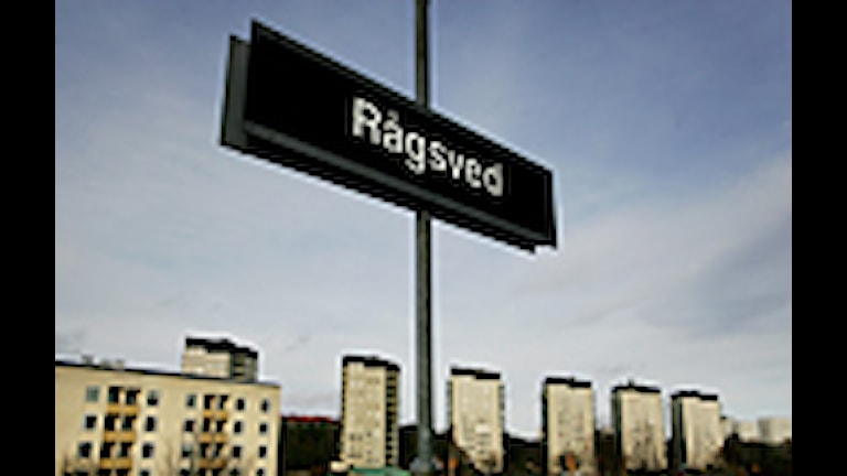 Rågsveds tunnelbaneperrong. Foto: Jessica Gow/Scanpix.
