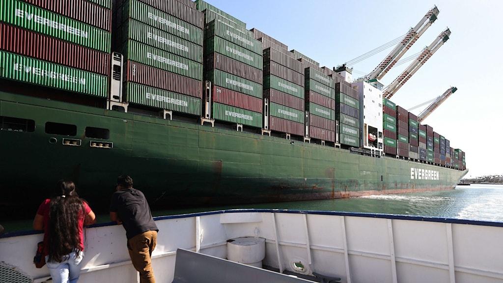 Containerfartyg Los Angeles