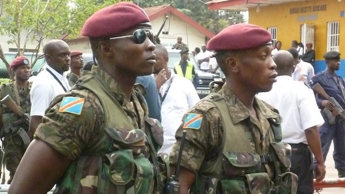 Kongolesiska styrkor.