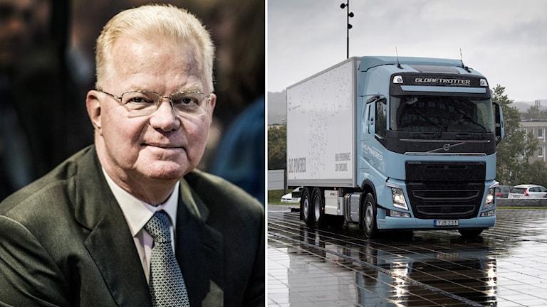 Fredrik Lundberg och Volvo lastvagn