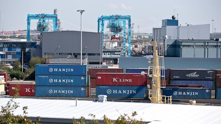 Göteborgs hamn.