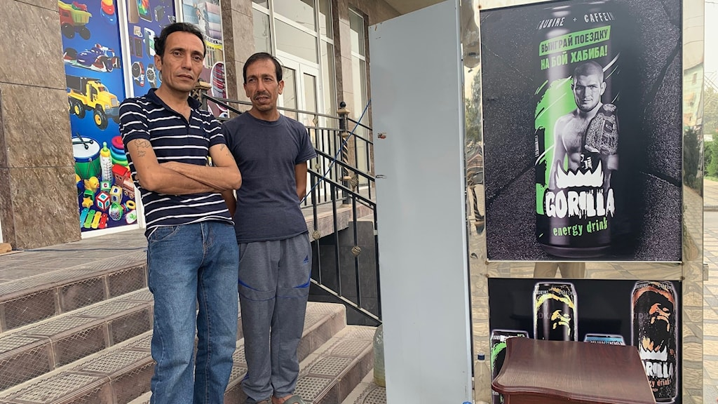 Ahmed och hans bror i Tadzjikistan.