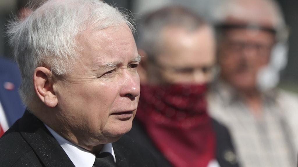 Lag och Rättvisas partiledare Jaroslaw Kaczyński