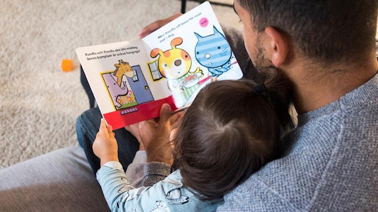 högläsning läsning barn