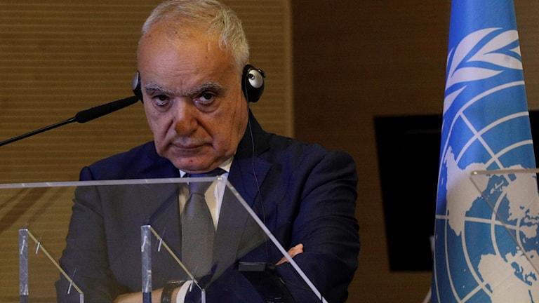 Ghassan Salamé är FN:s sändebud.