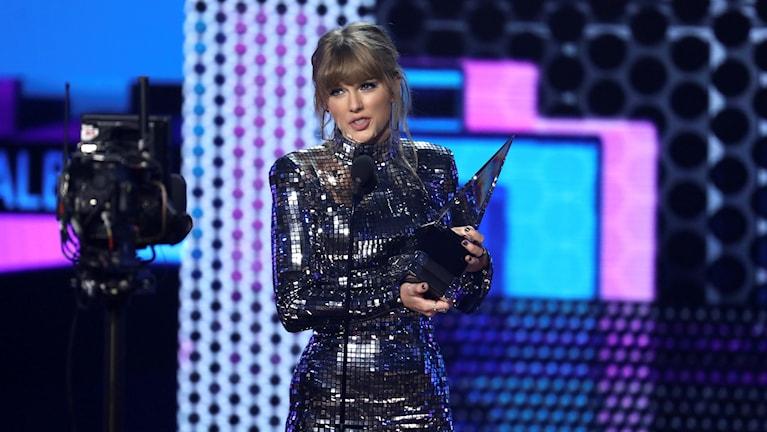 Popstjärnan Taylor Swift