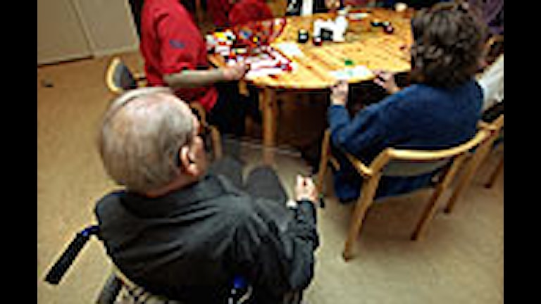 Många på äldreboende har problem med magen. Foto: Erik G Svensson/PRB.