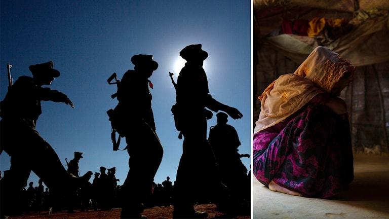 Militärer misstänks för krigsförbrytelser i Myanmar
