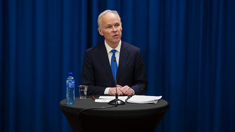 Norges finansminister Jan Tore Sanner.