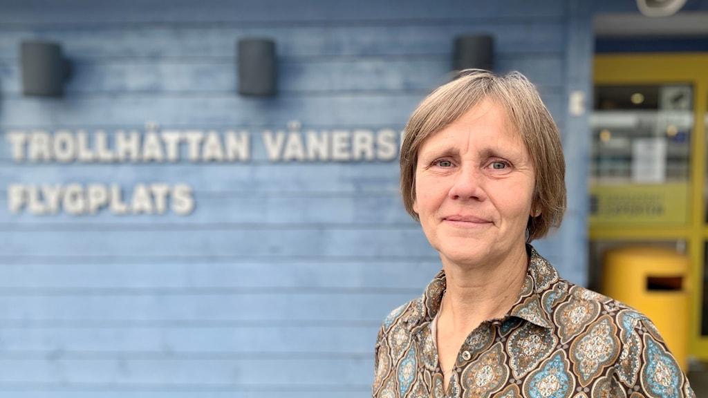Anna Råhnängen, flygplatschef Trollhättan Vänersborgs flygplats